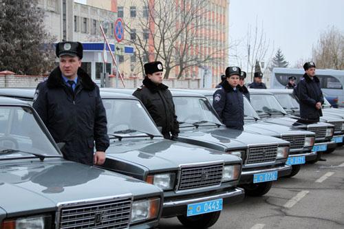 Автопарк Вінницької міліції поповнився новими автомобілями