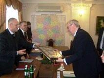 21 грудня Вінницю відвідав Надзвичайний і Повноважний Посол Королівства Нідерландів в Україні Пітер Ян Волтерс