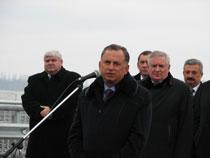 Відкриття нової об'їзної дороги у Калинівці