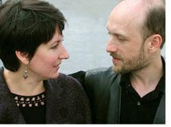 Заслужені артисти України Герман Сафонов та Олена Строган