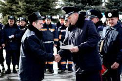 нагородження працівників міліції