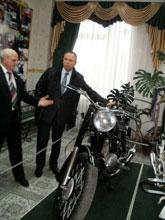 Микола Джига  взяв участь у відкритті спортивно-реабілітаційного центру в Барському автодорожньому технікумі
