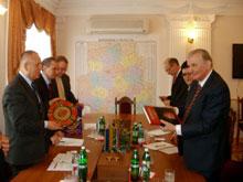 Вінницю відвідав посол Сербії