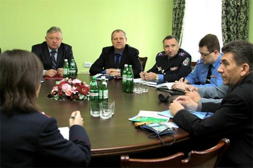 В УМВС відбулась зустріч з представниками Корпусу миру в Україні