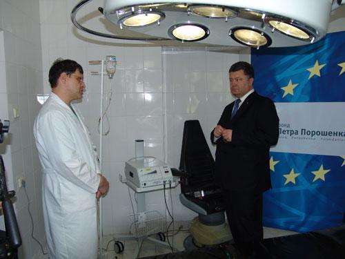 """Апарат """"Sonaka"""" від фонду Петра Порошенка щодня допомагає рятувати десятки життів"""