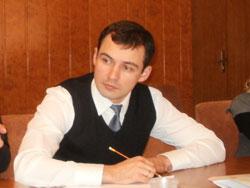 голова Всеукраїнської молодіжної громадської організації «Демократичний Альянс» Василь Гацько
