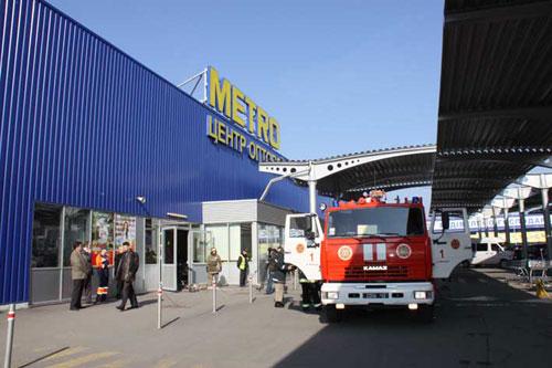 У Вінниці вчилися гасити пожежу в Метро