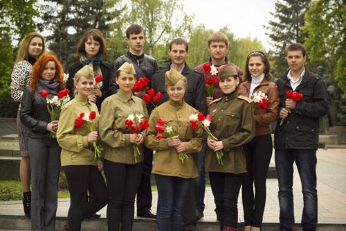 Молодіжна Рада Вінниччини вшановує пам'ять героїв Великої Вітчизняної війни