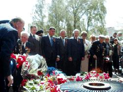 Вінничани вшанували пам'ять загиблих в роки Великої Вітчизняної війни