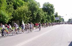 У неділю, 22 травня, відбувся велопробіг навколо Вінниці