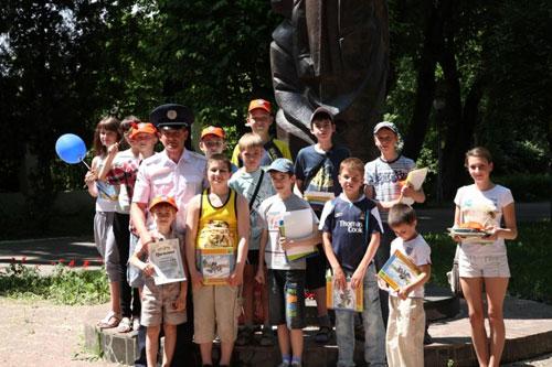 У Міжнародний день захисту дітей ДАІ Вінниччини провели низку профілактичних заходів