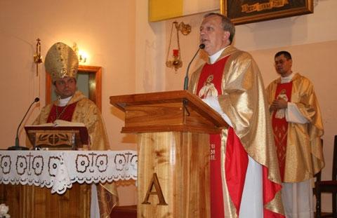 Вінниця вітала мощі блаженного Папи Йоана Павла ІІ