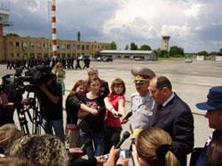 """В аеропорту """"Вінниця"""" боролися з терористами"""