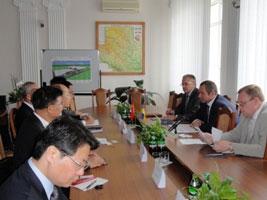 Перспективи співробітництва Вінниччини з провінцією Аньхой КНР обговорювали вчора у Вінниці