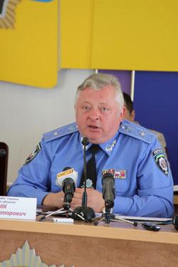 начальник УМВС у Вінницькій області Валерій Нонік