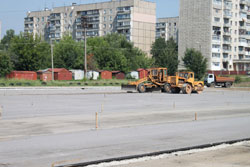 До початку нового навчального року буде завершено реконструкцію стадіону біля ЗОШ №35