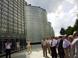 На Вінниччині відкрито перший потужний найсучасніший елеватор