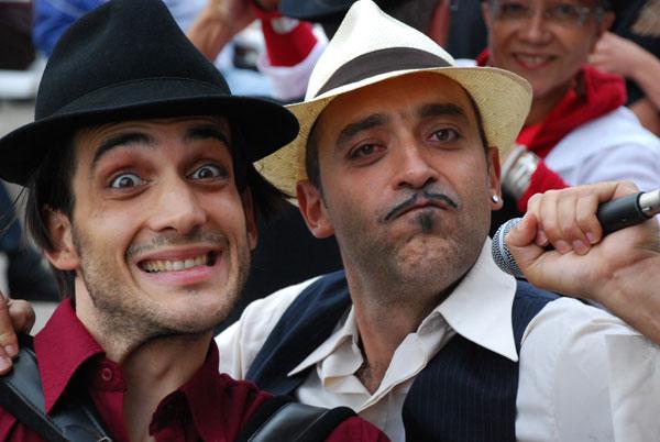 Зірки світового джазу Флориан Демонсана (Франція) та  Пако Серрано (Іспанія)