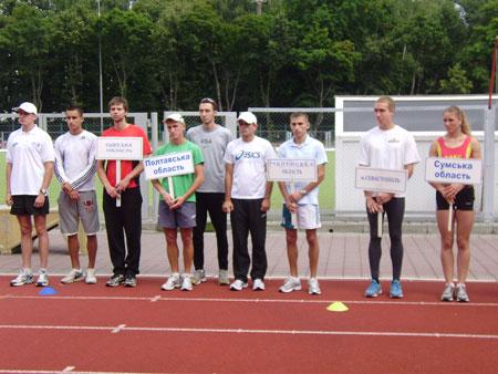 На Вінниччині відкрито фінал чемпіонату кубку України серед молоді з легкої атлетики