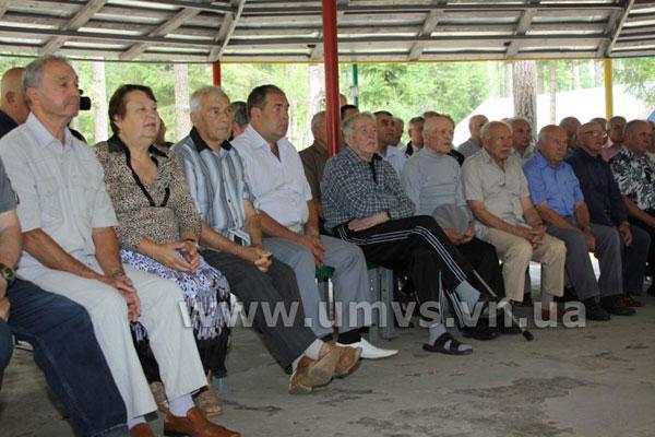 Ветерани Вітчизняної війни та органів внутрішніх справ відправилися на відпочинок у табір