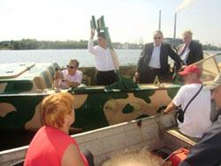 Ладижинське водосховище може стати візиткою водного туризму Вінниччини