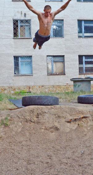 паркур у Вінниці