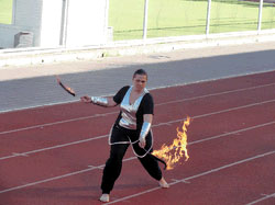 День фізичної культури і спорту у Вінниці відзначили художньо-спортивним шоу