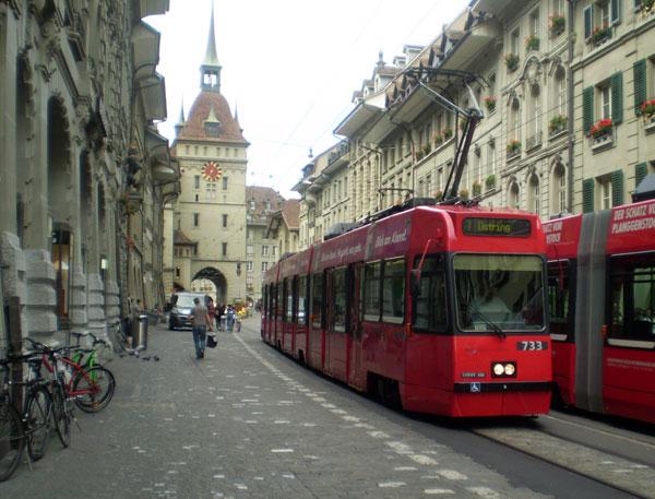 швейцарські трамваї