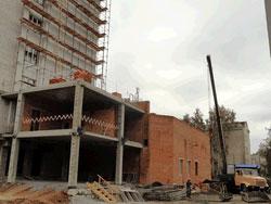 будівельно-монтажні роботи на хірургічному відділенні лікарні ім. Пирогова
