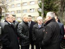 Міністр регіонального розвитку, будівництва та житлово-комунального господарства України Анатолій Близнюк відвідав Вінниччину