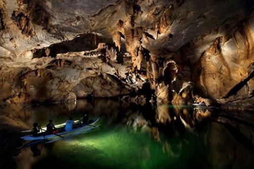 Підземна річка Пуерто Принцеса на Філіппінах