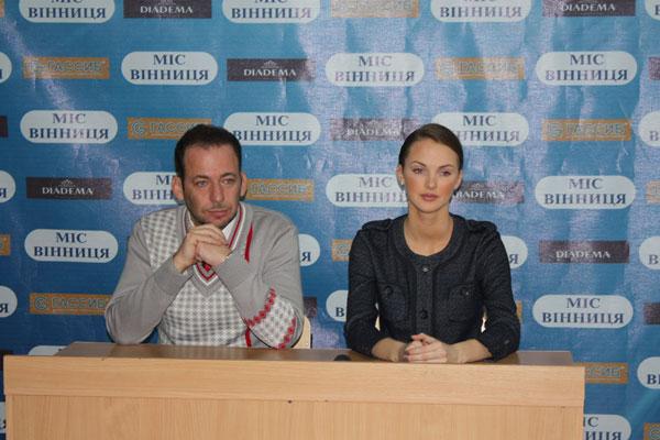 Євгеній Майданик та Ярослава Куряча