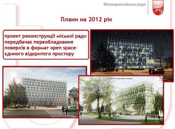проект  реконструкції міської ради