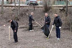 У Вінниці розпочалась пора весняних суботників