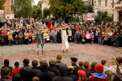 Карнавал на день міста Вінниці