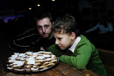 Ігор Пелих з сином