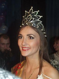 Ольга Безпалько - Міс Вінниці 2009