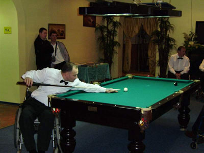 міський турнір з більярду для людей з обмеженими фізичними можливостями