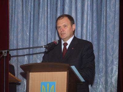 Володимир Шандра у Вінниці