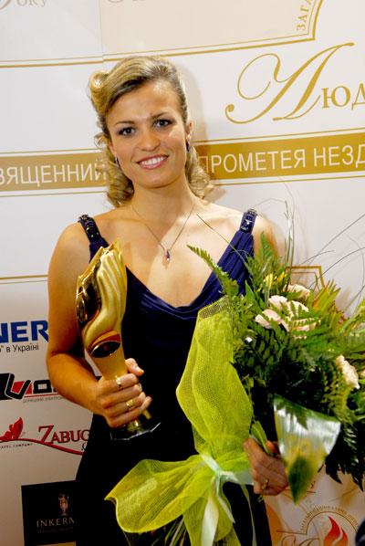 Спортсменка року - Наталя Добринська!