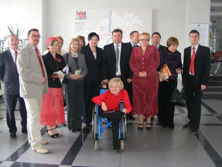 делегація з польських міст Коло та Слупца