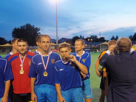 Национальная сборная команда Украины по хоккею на траве выиграла Чемпионат Европы