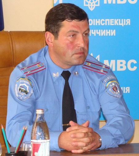 У ДАІ Вінниччини новий начальник – Геннадій Прокопович