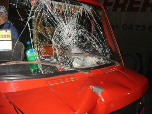 2 грудня на Хмельницькому шосе сталася аварія