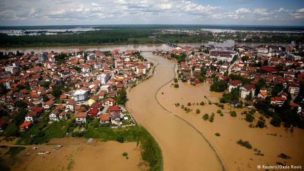 Повінь на Балканах вимиває міни у Чорне море?