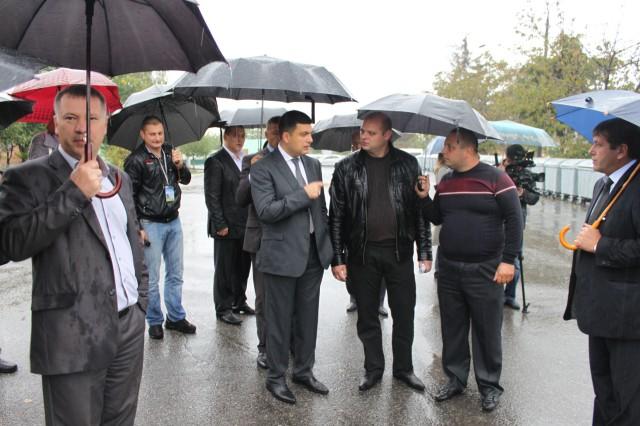 Мер міста  Вінниці Володимир Гройсман перебував на КУП «ЕкоВін»