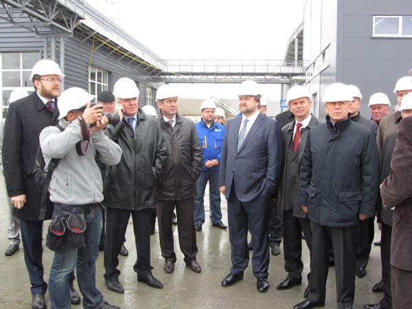 Відкриття заводу в смт. Турбів