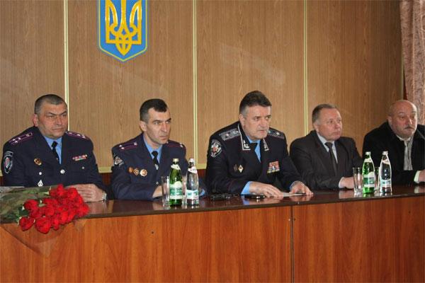 призначення нових керівників міліції