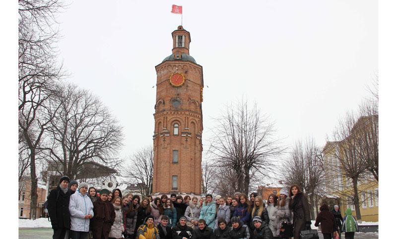 гості зі Львова побували у сквері Козицького