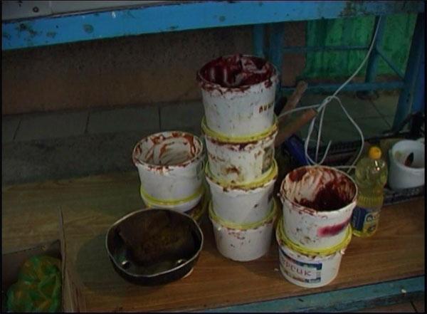У Вінниці пельмені та пиріжки виготовляли серед бруду та безладу